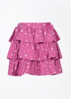 FS Mini Klub Printed Girl's Baby Girl's Layered Skirt