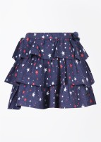 FS Mini Klub Printed Girl's Baby Girl's Layered Skirt - SKIDWTBZ9YWEH4S3