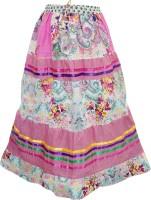 Indiatrendzs Floral Print Women's A-line Skirt