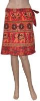 Pezzava Animal Print Women's Wrap Around Skirt - SKIEFBPUZNHGCQPQ
