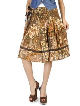 Happy Hangar Printed Women's Regular Skirt - SKIE356YUGRBYPDF