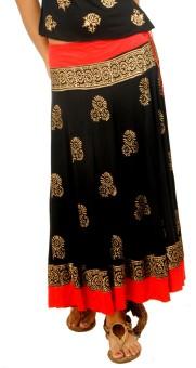 Ira Soleil Printed Women's Skirt - SKIDRYVNJAGX4VQD