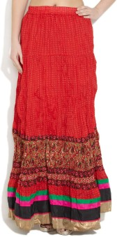Shree Printed Women's Regular Skirt