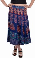 Indi Bargain Animal Print, Floral Print, Printed Women's Wrap Around Skirt