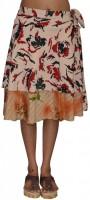 Pezzava Printed Women's Wrap Around Skirt - SKIE2BBPZABBQVKY