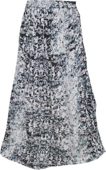 Indiatrendzs Printed Women's A-line Skirt