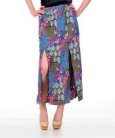 Yepme Geometric Print Women's A-line Skirt