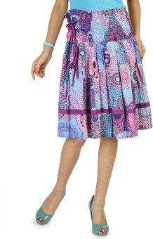 Happy Hangar Printed Women's Regular Skirt - SKIE355ZGZBMAYHB