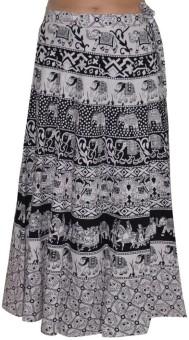 Pezzava Printed Women's Wrap Around Skirt - SKIE4BQ3NNNUPYYF