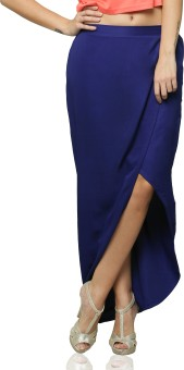 Miss Chase Solid Women's Skirt