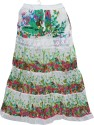 Indiatrendzs Printed Women's A-line Multicolor Skirt