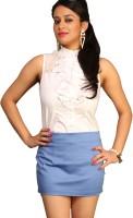 Schwof Solid Women's Bodycon Skirt