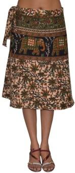 Pezzava Printed Women's Wrap Around Skirt - SKIE355YNYNQSZHE