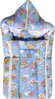 MyAngel Baby Carrier Cum Wrap With Double Chain Sleeping Bag (Blue)