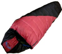 Addinyor Mac How Extra Layer With Deitachable Woolen Inner110021 Sleeping Bag (Black With Red)