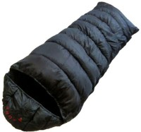 Addinyor A-One Black With Fix Woolen Inner Sleeping Bag (Black)