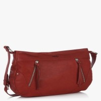 Jag Girls, Women Maroon Genuine Leather Messenger Bag