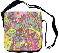 Shaildha Girls, Women Casual Multicolor Canvas Sling Bag - SLBE6RHTZGR8W3HT
