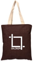 Campus Sutra Women Casual Brown Jute Tote - SLBE88GZGYGCQ3MT
