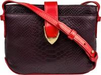 Hidesign Women Purple Genuine Leather Sling Bag