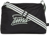 Puma Women Black PU Sling Bag