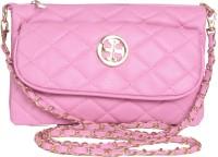 Lee Italian Girls, Women Evening/Party, Formal Pink PU Sling Bag