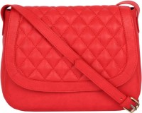 Life By Shoppers Stop Women Casual Red PU Sling Bag