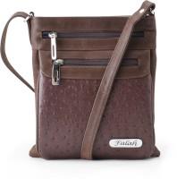 Falah Bag Works Women Brown PU Sling Bag