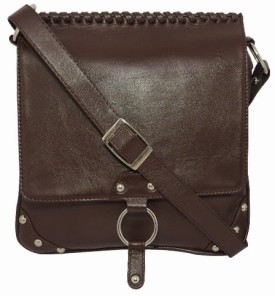 Chimera Leather 1410 Sling Bag - Brown