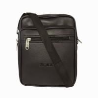 Chimera Leather LMB160641411 Small Sling Bag - Black