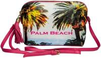 Klasse Girls Casual Pink Genuine Leather Sling Bag