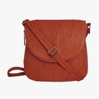 KBN Leather 1024 Sling Bag - Orange