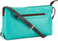 Caprese Women Brown, Green Sling Bag