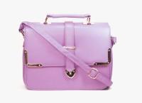 Blue-Tuff Women Casual Purple PU Sling Bag