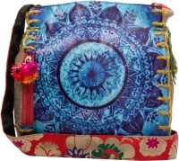 The House Of Tara Printed Medium Sling Bag - Multicolor - SLBEY9TPXZSVY9D3