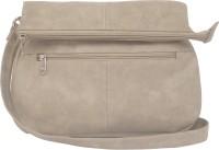 Feliza Women Casual Grey PU Sling Bag