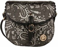 Lino Perros LWSL00145 Small Sling Bag - Black