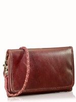Phive Rivers Genuine Leather : Gia_pr365-B Medium Sling Bag - Red