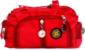 Afashionstreet Girls Red Rexine Sling Bag