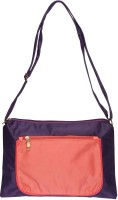 Life By Shoppers Stop Women Casual Purple Polyester Sling Bag