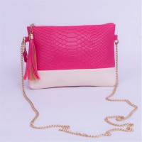 Blinge Women, Girls Casual, Formal, Evening/Party Red, Pink PU Sling Bag