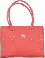 SK-Effects7 Women Red Leatherette Hand-held Bag