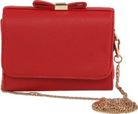 ToniQ Girls, Women Red PU Sling Bag
