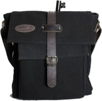 Moda Desire Women Casual Black Canvas Sling Bag