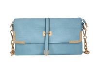 Esbeda Girls Evening/Party Blue PU Sling Bag - SLBE8YHUWAB7NAZF