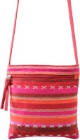 Anekaant Kuttu Small Sling Bag - Red