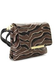 Addons Women Black, Brown PU Sling Bag