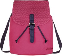 FASTRACK Girls, Women Pink Canvas Sling Bag
