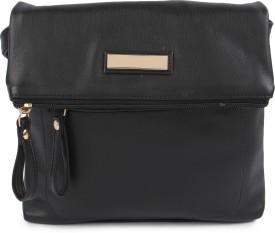 Kleio Girls, Women Black PU Sling Bag