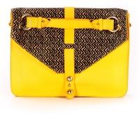 Label Ritu Kumar LLBL300N8030B05-y Medium Sling Bag - Yellow